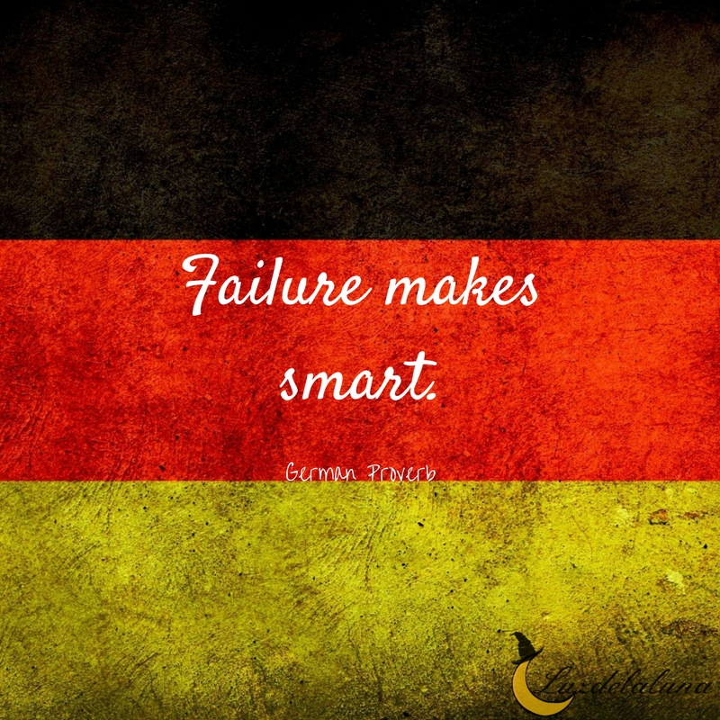 German proverb