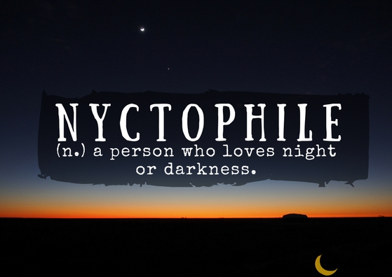 nyctophile