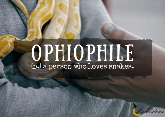 Ophiophile