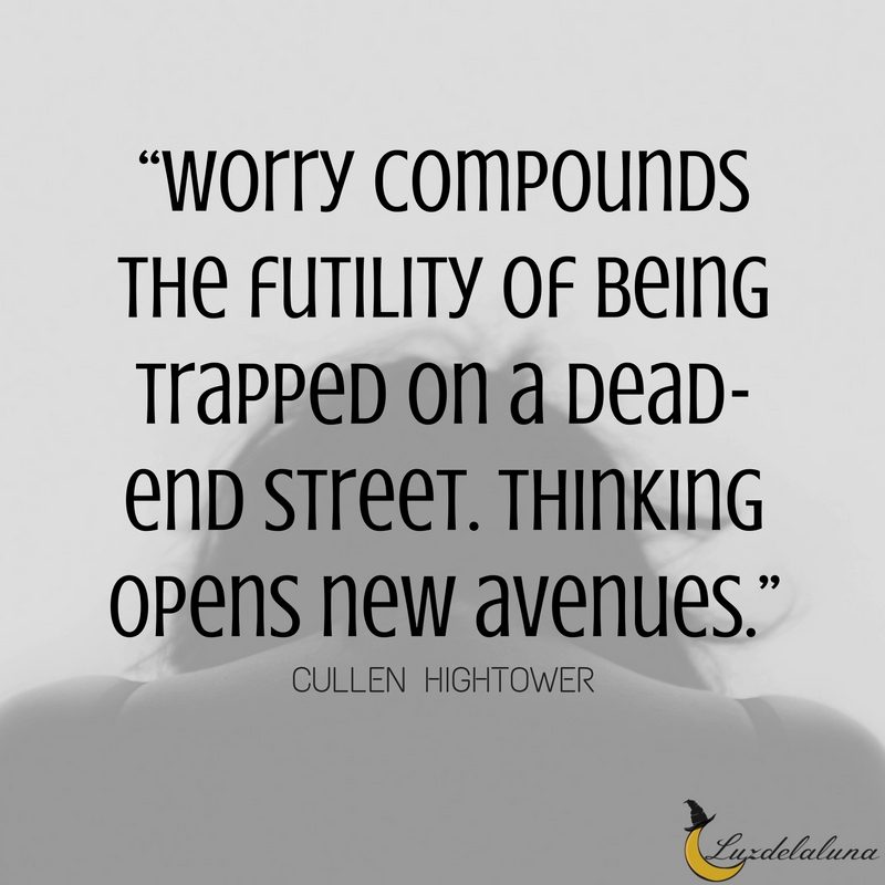 worry quotes