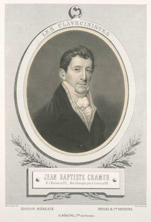 J.B. Cramer – 21 Etüden für Klavier