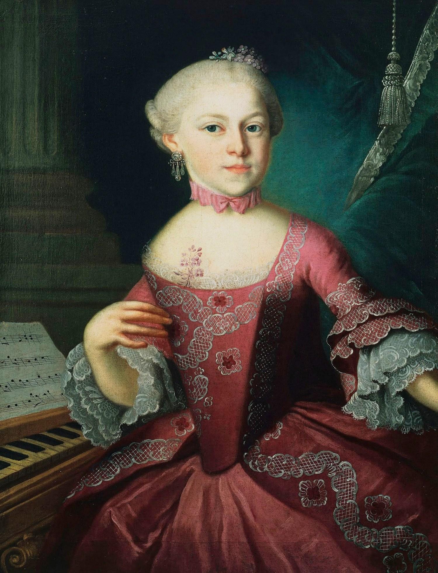 Mozart , Maria Anna Walburga Ignatia (Nannerl)