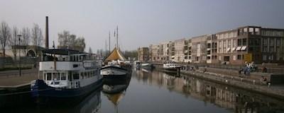 De haven van Amersfoort