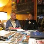 Uiteraard stond de verenigingsstand met Henk en Gerda Morel weer in de buik van de Terra Nova.