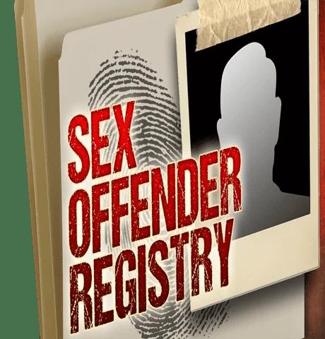 Registry sex offenders