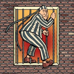 A prisoner escapes from prison. Jailbreak