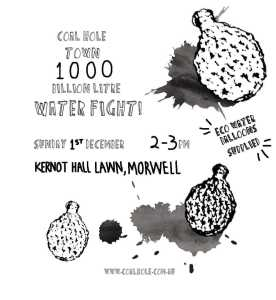 Coal Hole water fight poster 276x300 - Events