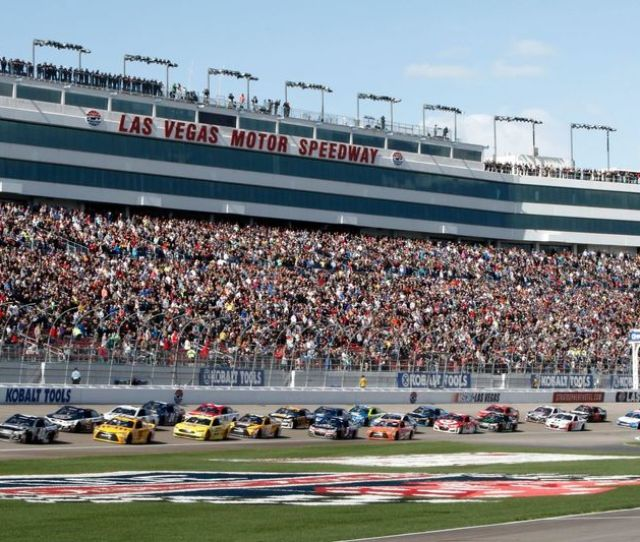 Lvms Announces Race Stage Information For  Nascar Weekend