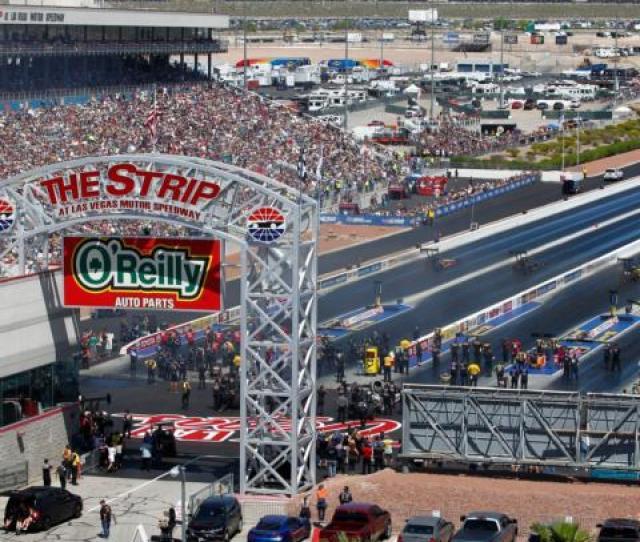 Drag Strip Tracks Las Vegas Motor Speedway
