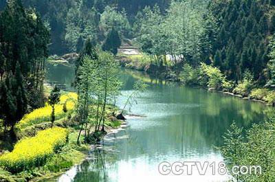 構溪河濕地保護區_南充旅游_驢窩戶外網