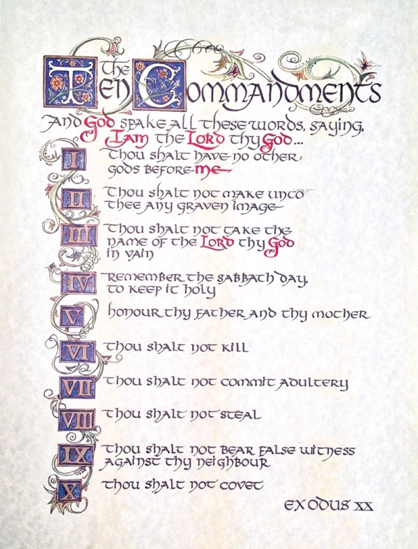 10 commandments # 50