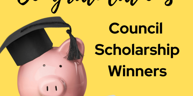 Announcing Our 2021 Council Scholarships