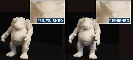 Acabamento em Peças 3D - 3