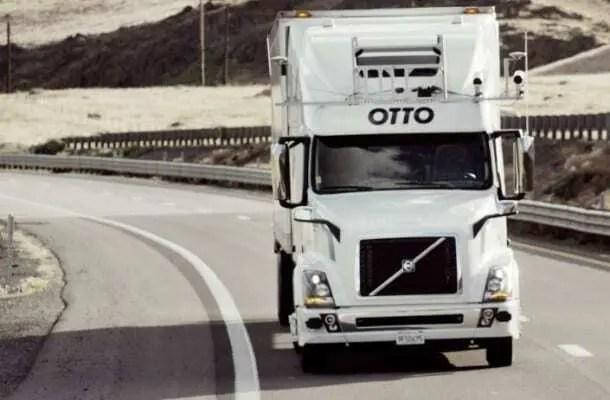Projeto OTTO - Caminhões que fazem entrega sem motorista