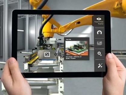 Os benefícios da Realidade Aumentada dentro da indústria