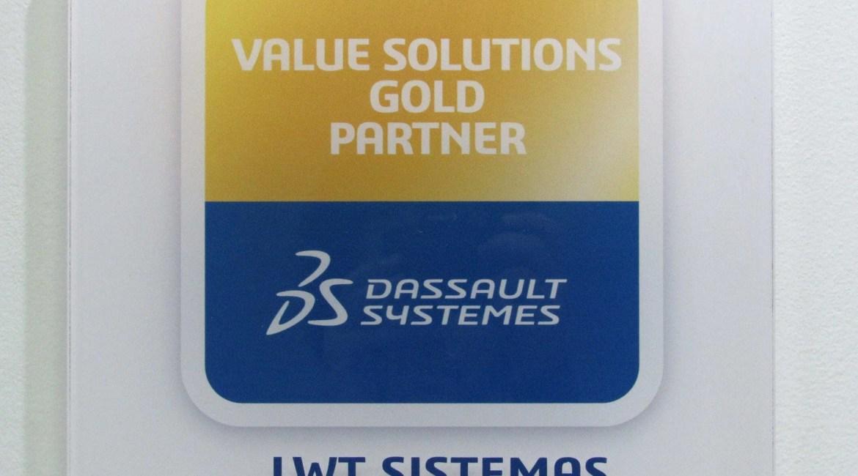A LWT Sistemas conquistou o prêmio de parceiro GOLD da Dassault Systemès 1