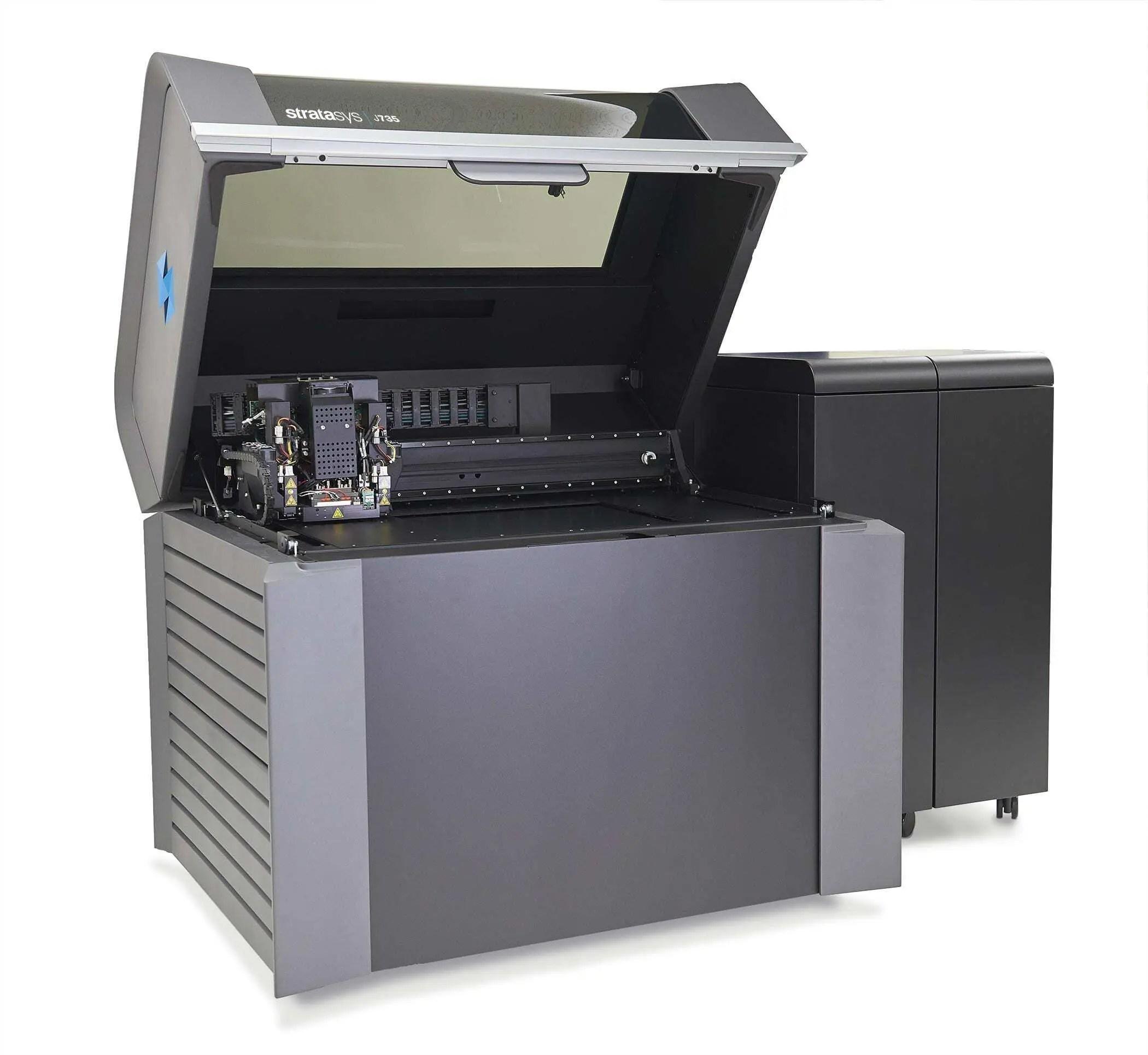 Impressora 3D Stratasys J735 1