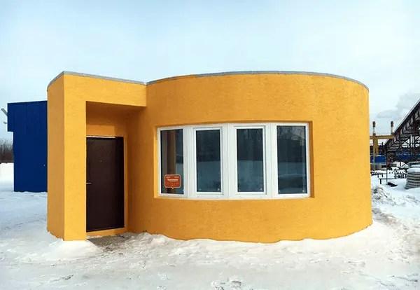 Conheça a impressora 3D que constrói casas em 24 horas