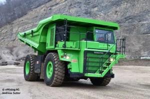 Conheça o maior caminhão elétrico do mundo