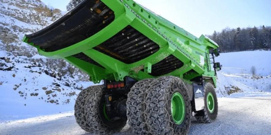 Conheça o maior caminhão elétrico do mundo 1