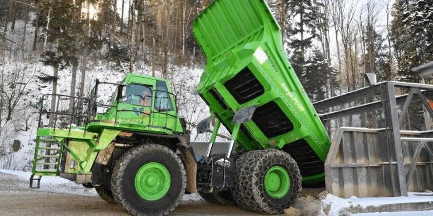 Conheça o maior caminhão elétrico do mundo 2