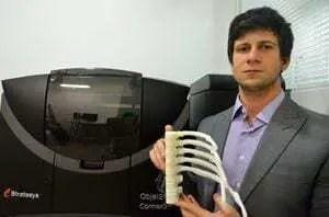 BioArchitects gera próteses e biomodelos com ajuda da Objet260 Connex3, a impressora 3D multimateriais colorida da Stratasys 1