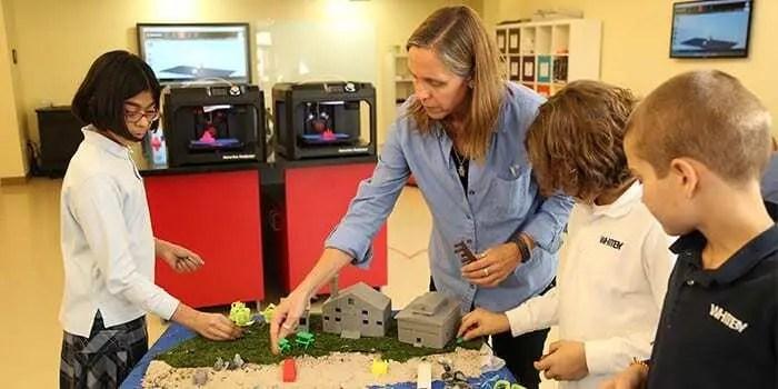 A Impressão 3D já está presente nas Escolas