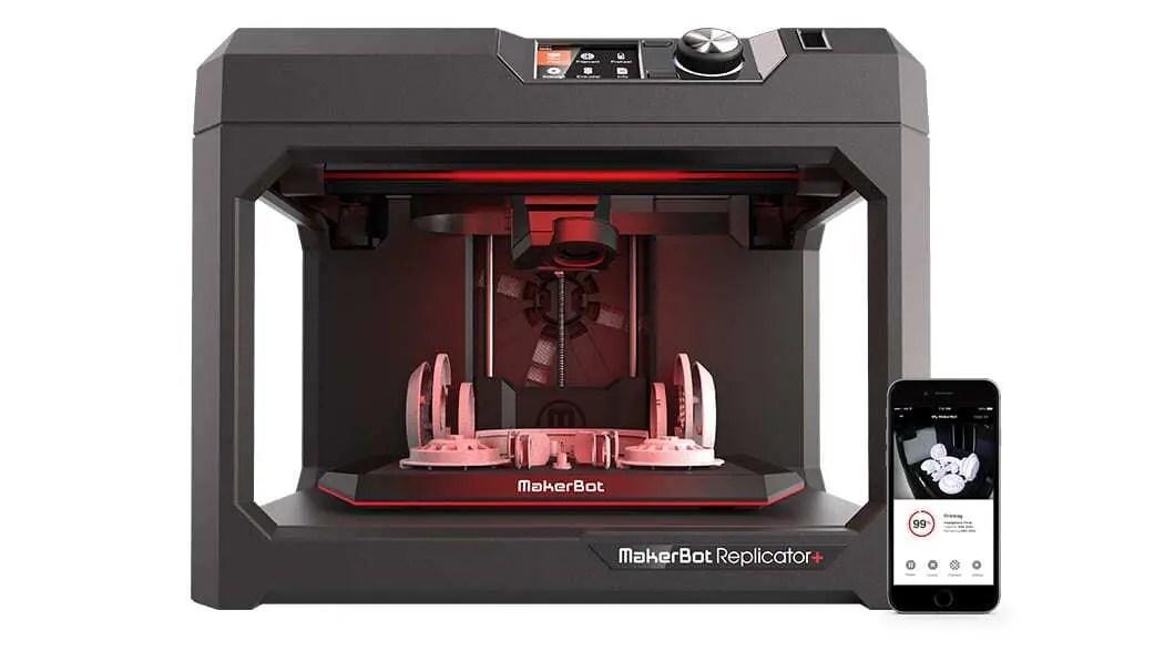 Impressora 3D MakerBot Replicator+