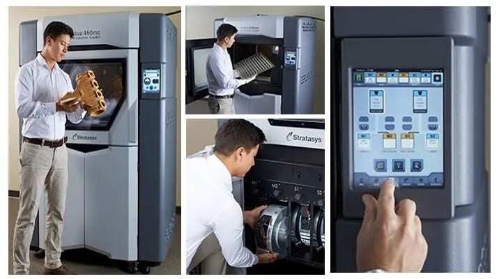 Impressoras 3D Stratasys Fortus 380mc e Fortus 450mc   FDM