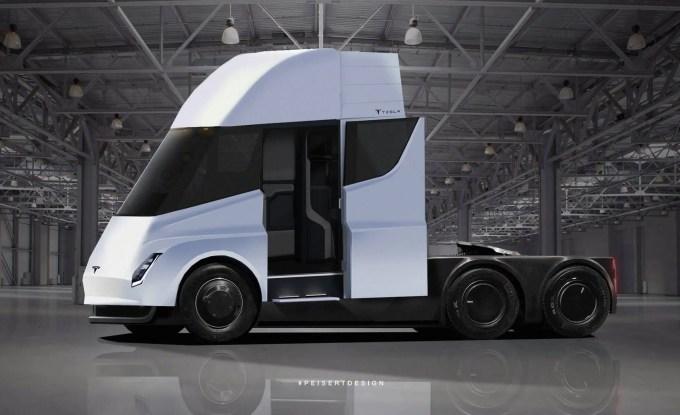Conheça o SEMI: Caminhão Elétrico da Tesla 1