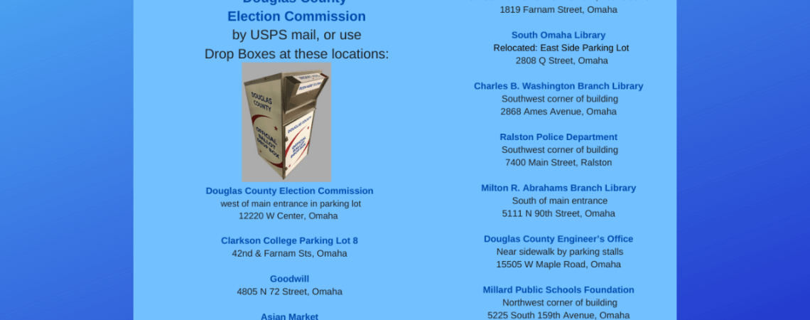 Douglas and Sarpy County Add New Drop Boxes