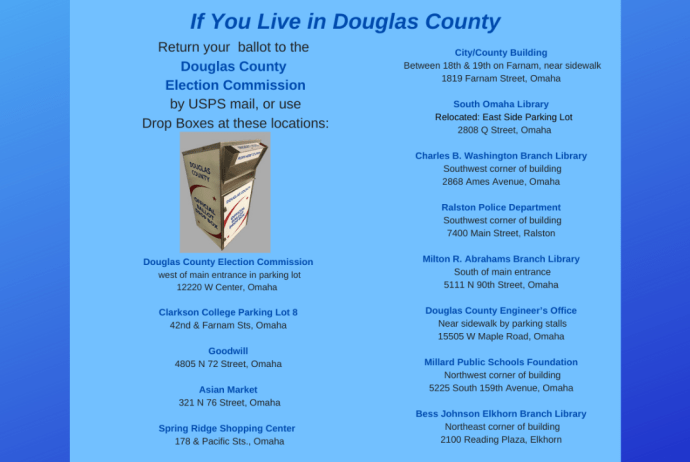 Douglas County Drop Boxes