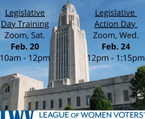 Legislative DAy Training & Action Day
