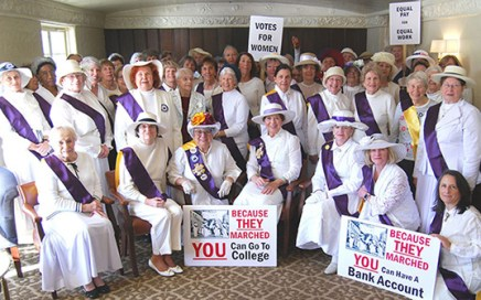 Celebrating 100 years of Women's Suffrage and the League of Women Voters