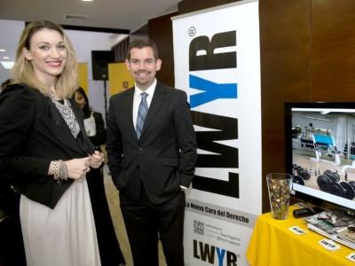 Revista LWYR fue uno de los patrocinadores del encuentro.