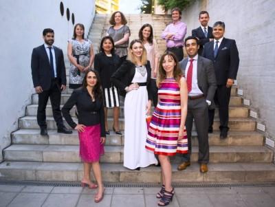 Algunos de los panelistas que participaron en el seminario.