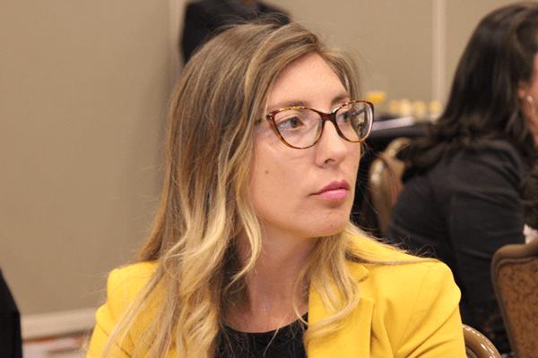 Karen Medina, directora de Escuela de la Facultad de Derecho de la Universidad Andrés Bello.