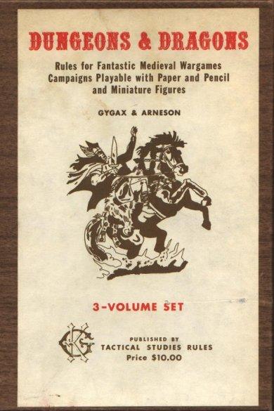 A capa do primeiro RPG da história.