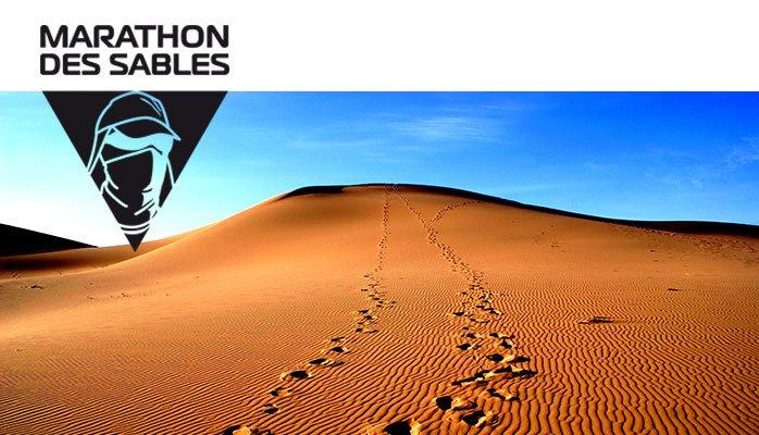 MARATHON des SABLES – Le point sur la course de Philippe