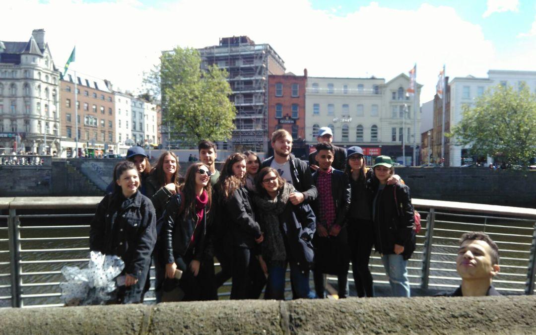 20-05-2017 – Visite de Dublin en ce premier jour pour les BTS MUC