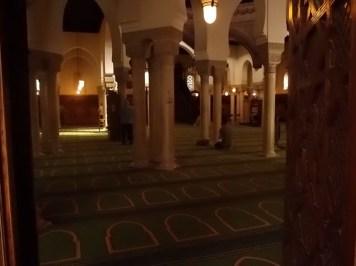 Salle de prière de la Grande mosquée de Paris