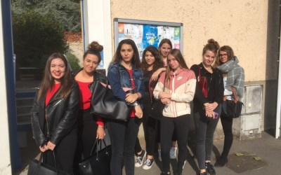 19-10-2018 : Les élèves d'ASSP à la Maison Bleue