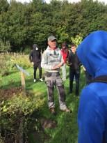 David, le jardinier