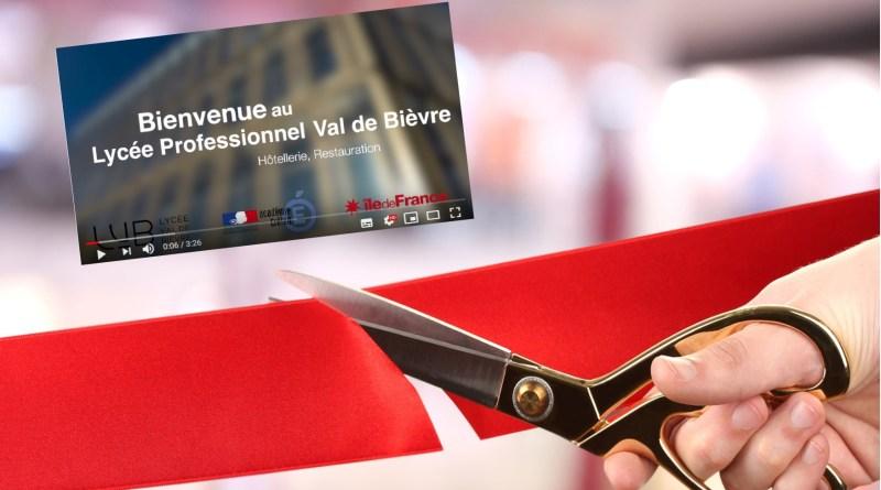 La vidéo officielle de présentation du Lycée Val de Bièvre