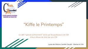 "Read more about the article ""Kiffe le Printemps"""