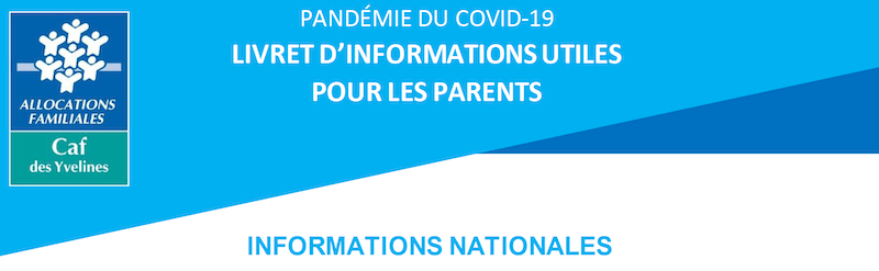 Read more about the article INFORMATIONS NATIONALES CAF des yvelines