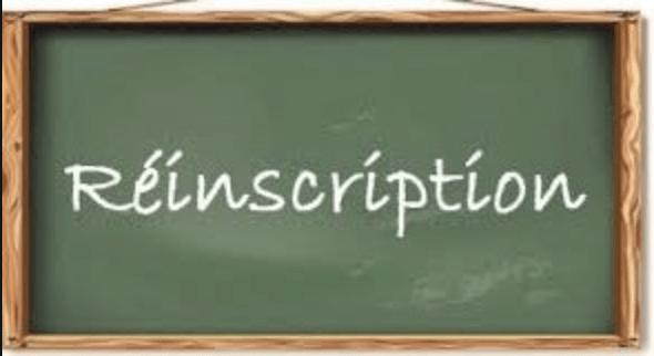 You are currently viewing Procédure de réinscription des élèves