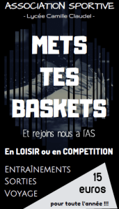 Read more about the article L'association sportive (AS) au lycée Camille Claudel
