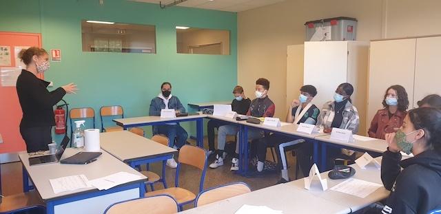 Read more about the article Sensibiliser les élèves à l'entreprenariat.