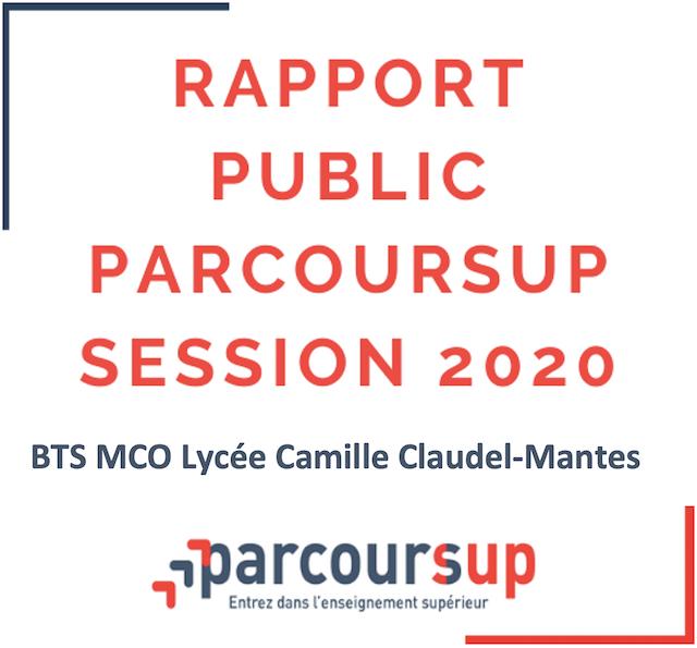 Read more about the article Rapport public Parcoursup session 2020
